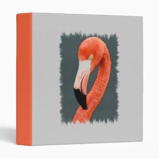 Brilliant Flamingo Binder