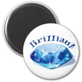 Brilliant Gem Blue Magnet