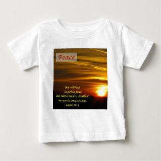 Brilliant Glow - Peace Baby T-Shirt