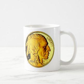 Brilliant Gold Coin Mug