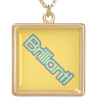 Brilliant! Gold Plated Necklace