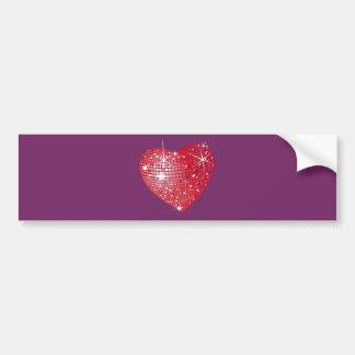 Brilliant Heart Car Bumper Sticker