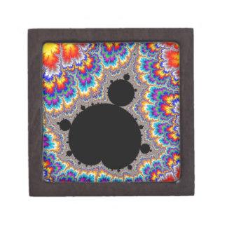 Brilliant Multicolor Mandelbrot Set Fractal Gift Box