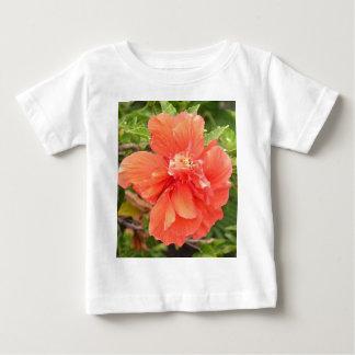 Brilliant Orange Hibiscus Baby T-Shirt