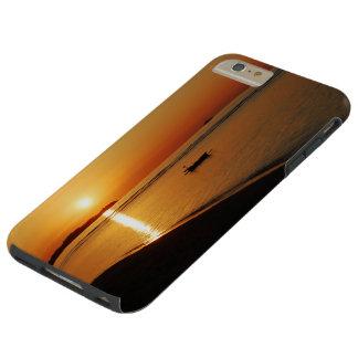 Brilliant Orange Sunset Tough iPhone 6 Plus Case