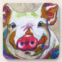 Brilliant Piggy Drink Coaster