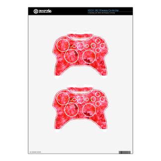 Brilliant Pink Blossoms Xbox 360 Controller Skin