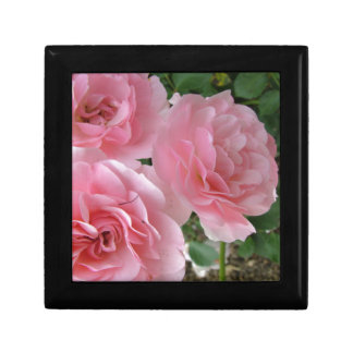 Brilliant Pink Flowers Jewelry Box