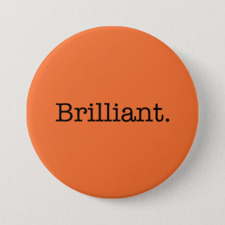 Brilliant Quote Tangerine Orange Trend Color Button
