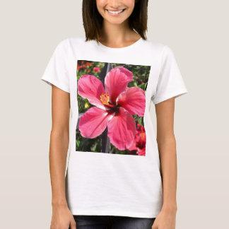 Brilliant Red Hibiscus Photo T-Shirt