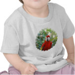 Brilliant Red Parrot Baby T-Shirt