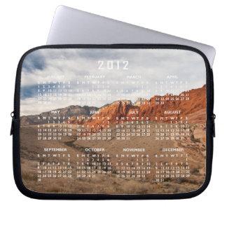 Brilliant Red Rocks; 2012 Calendar Laptop Computer Sleeves