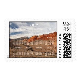 Brilliant Red Rocks; 2012 Calendar Stamps