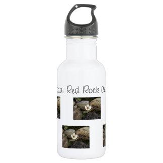 Brilliant Red Rocks; Nevada Souvenir 18oz Water Bottle