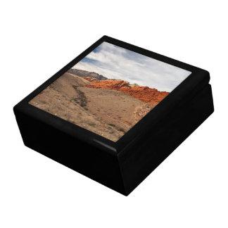 Brilliant Red Rocks; No Text Keepsake Boxes
