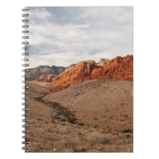 Brilliant Red Rocks; No Text Notebooks