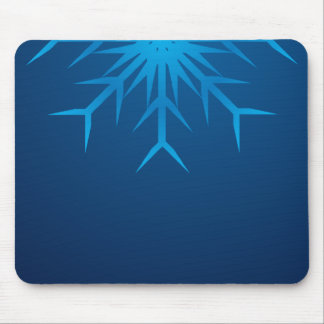brilliant snowflake mouse pad