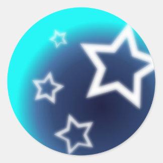 Brilliant Star Classic Round Sticker