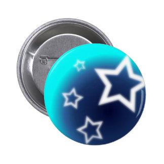 Brilliant Star Pinback Button