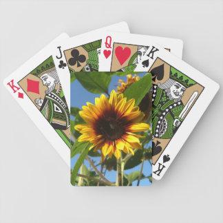 Brilliant Sunflower Deck of Cards
