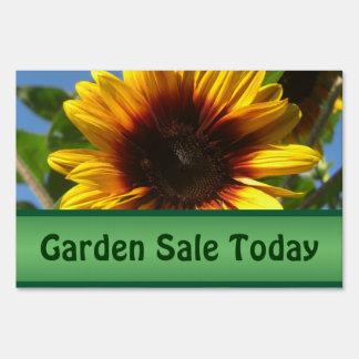 Brilliant Sunflower Garden Sale Custom Yard Sign
