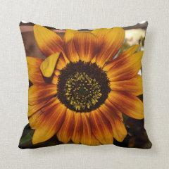 Brilliant Sunflower Throw Pillows