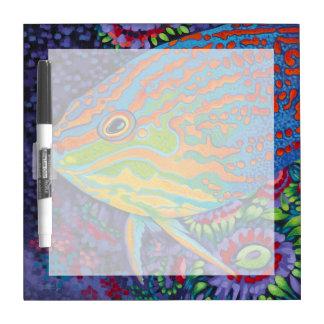 Brilliant Tropical Fish I Dry-Erase Board