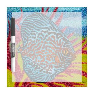 Brilliant Tropical Fish II Dry-Erase Board