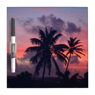 Brilliant Tropical Sunset Dry-Erase Whiteboards