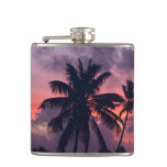 Brilliant Tropical Sunset Flask