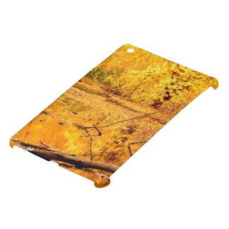 Brilliant yellow reflecting Pond iPad Mini Covers