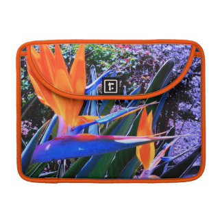 Brilliantly Colored Bird-of-Paradise Sleeves For MacBooks