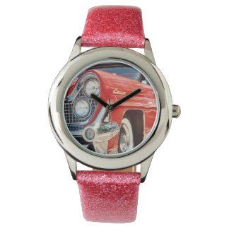 Brillo 1959 de Lincoln con la correa rosada del Reloj De Mano