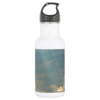 Brillo abajo botella de agua