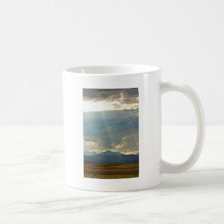 Brillo abajo taza de café