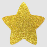 Brillo amarillo de neón calcomanía cuadrada personalizada