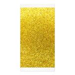 Brillo amarillo de neón tarjetas personales