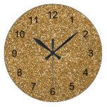 Brillo atractivo del oro falso relojes