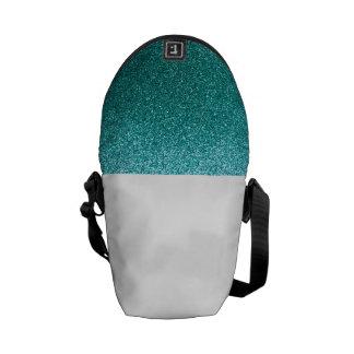 Brillo azul del huevo del petirrojo bolsa de mensajeria