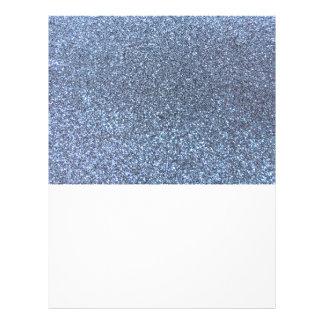 Brillo azul en colores pastel tarjetas informativas