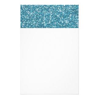 Brillo azul impreso  papeleria
