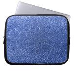 Brillo azul mangas portátiles