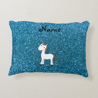 Brillo azul personalizado del unicornio conocido
