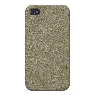 Brillo Bling iPhone4 del oro iPhone 4/4S Carcasas