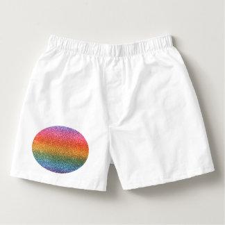 Brillo brillante del arco iris calzoncillos