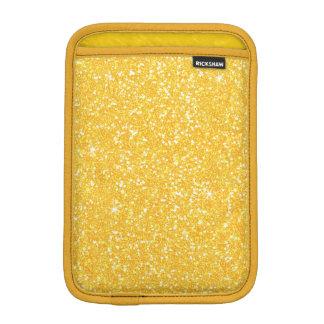 Brillo brillante y azafrán del amarillo amarillo funda para iPad mini