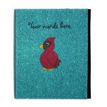 Brillo cardinal de la turquesa del brillo rojo