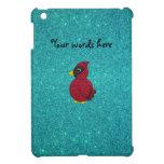 Brillo cardinal de la turquesa del brillo rojo iPad mini fundas