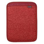 Brillo chispeante del rojo de rubíes funda para iPads