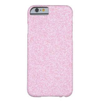 Brillo chispeante del rosa femenino funda de iPhone 6 slim